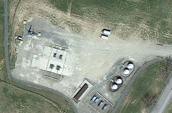Супутниковий знімок майданчика Detweiler J235 A