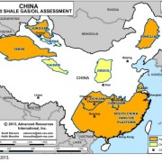China extracted 200 million cubic meters of shale gas in 2013