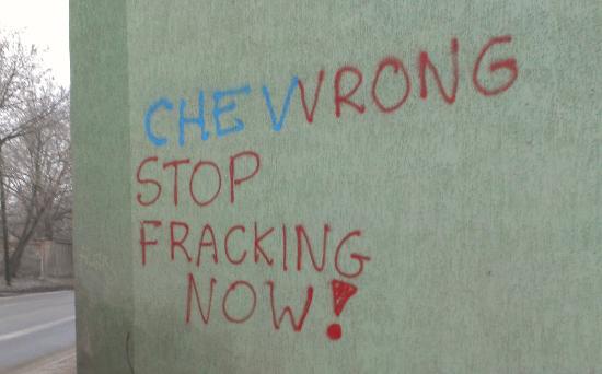 Заклик припинити видобуток сланцевого газу в Польщі