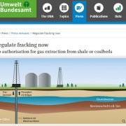 Німеччина прагне врегулювати видобуток сланцевого газу