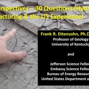 Presentations of Frank R. Ettensohn, Ph.D.